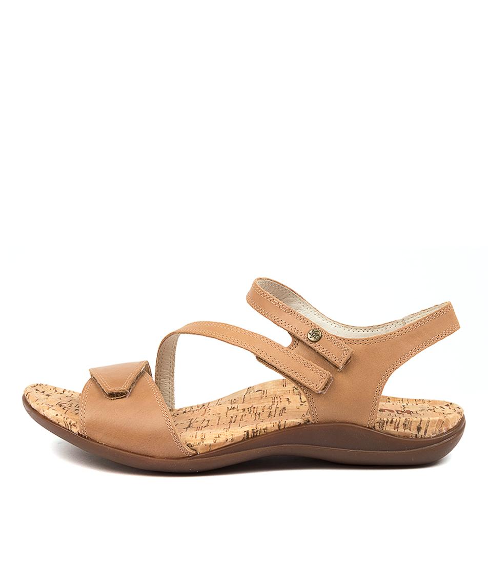 Buy Kumfs Mints Km Tan Sandals Flat Sandals online with free shipping