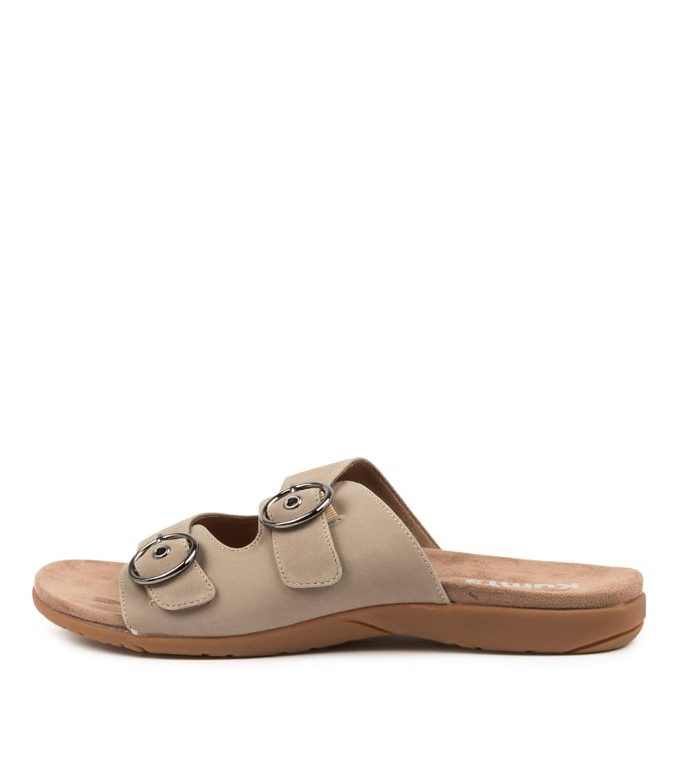 Buy Kumfs Koriella Km Khaki Sandals Flat Sandals online with free shipping