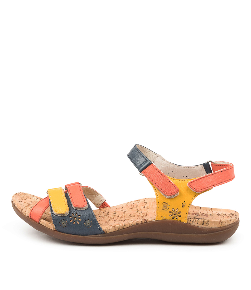 Buy Kumfs Marlo Km Bright Sandals Flat Sandals online with free shipping