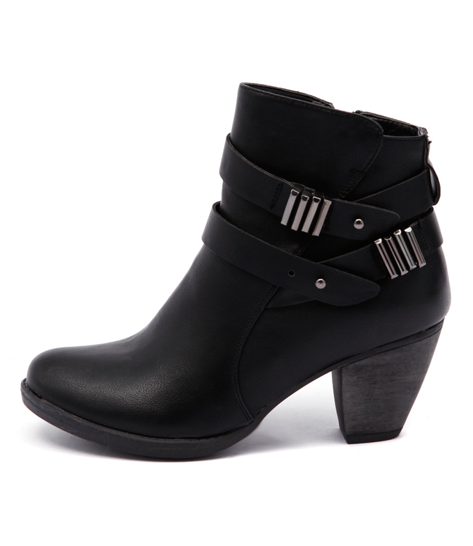 Ko Fashion Kesha W Kf Black Boots