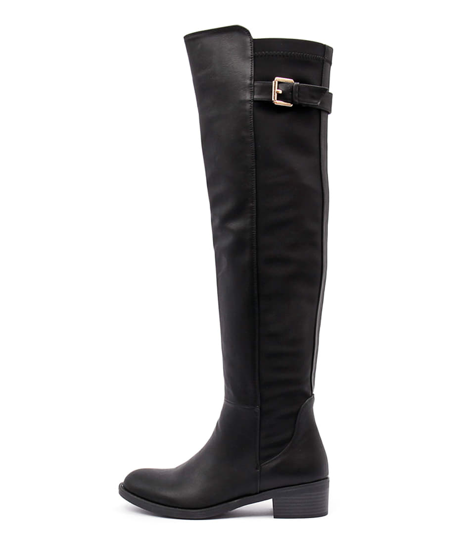 Ko Fashion Irving W Black Long Boots