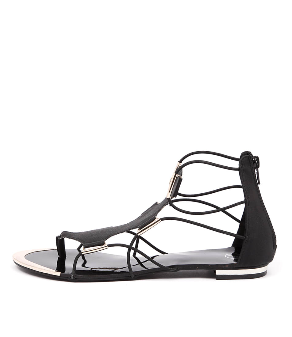 Ko Fashion Anja Kf Black Sandals