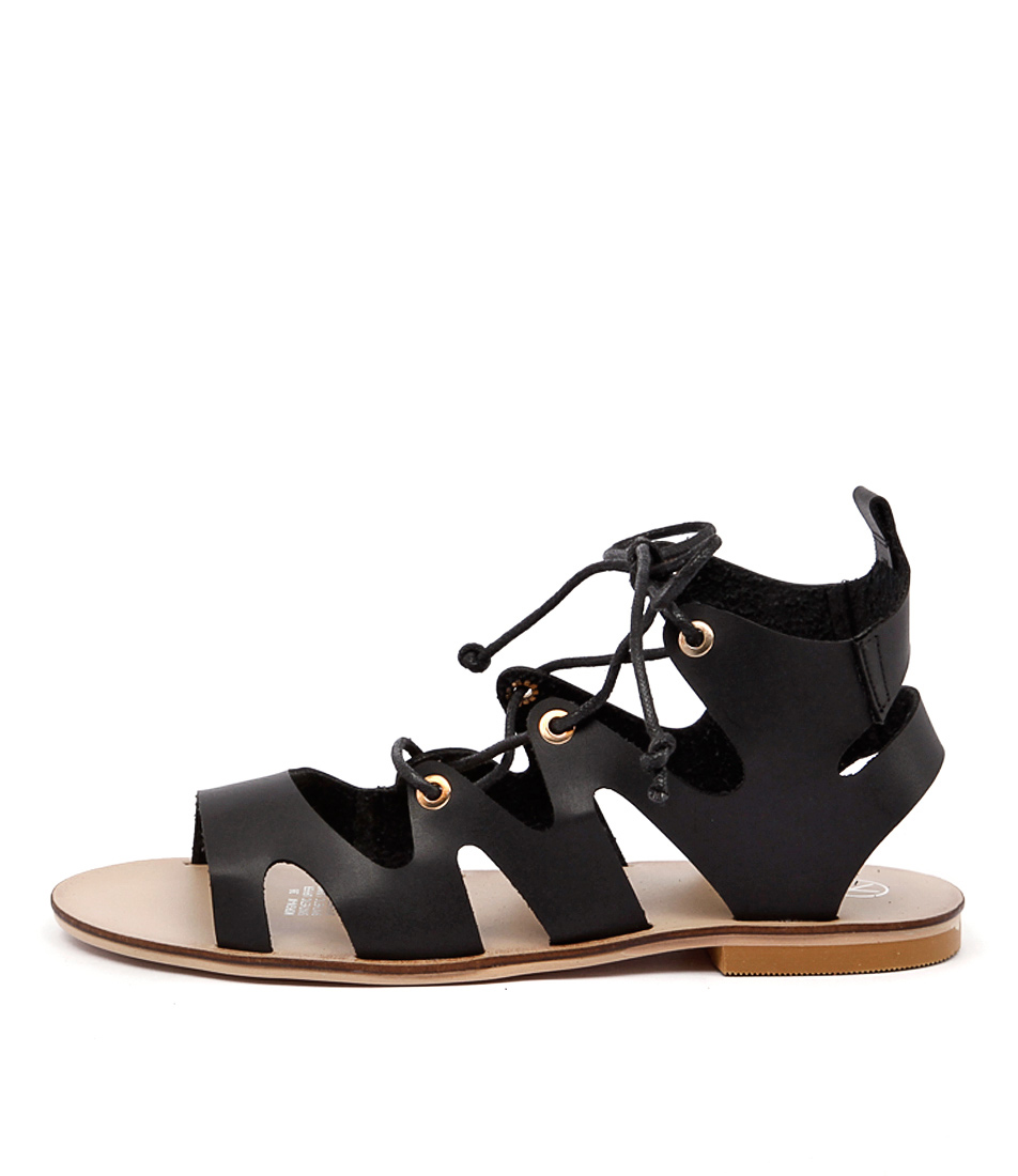Ko Fashion Morgin W Black Sandals