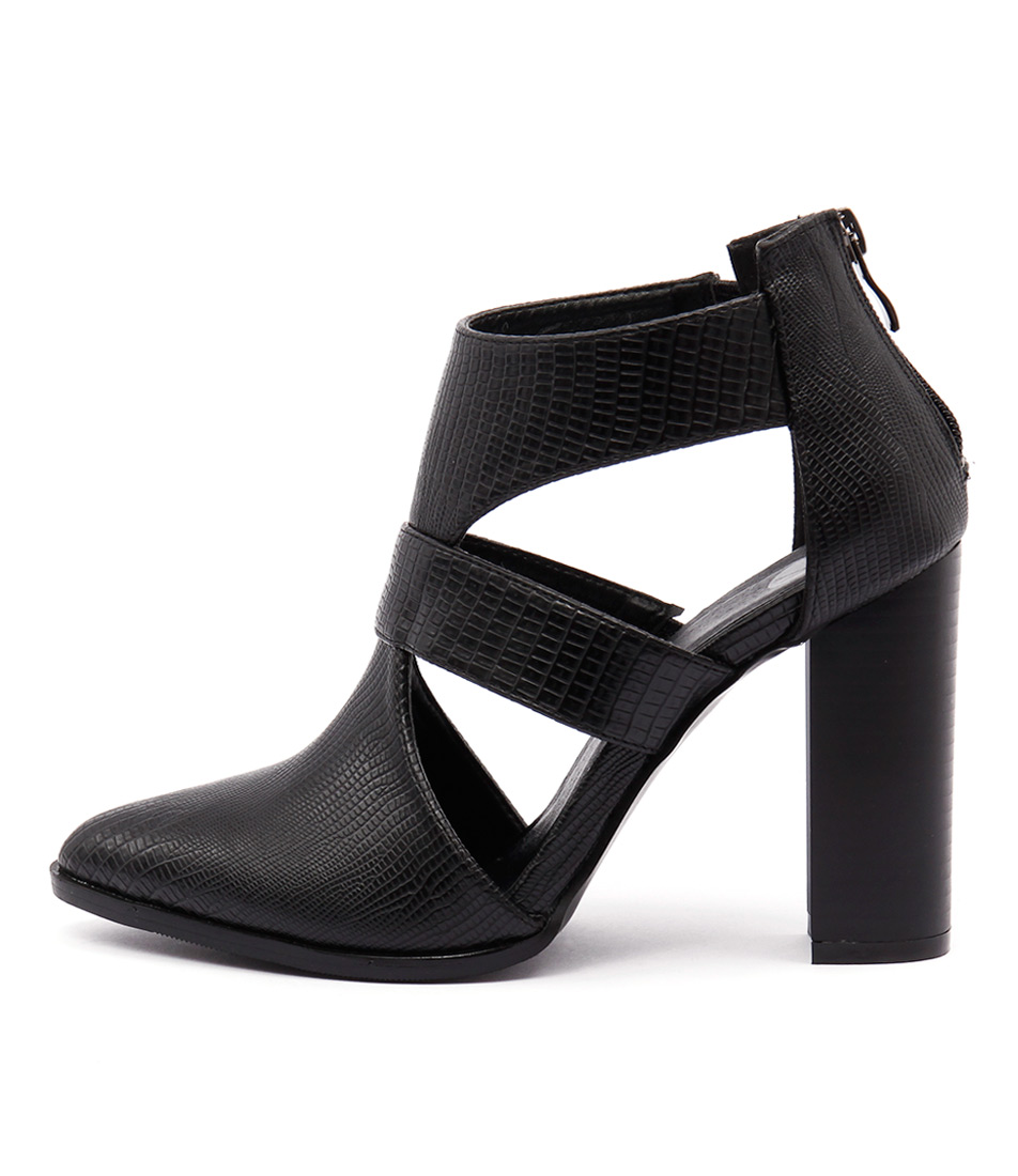 Ko Fashion Rocket Black Casual Ankle Boots