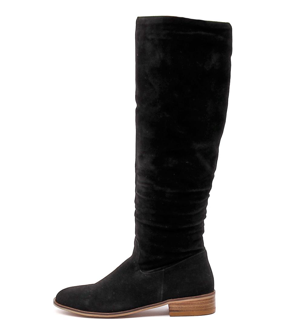 Ko Fashion Pratt Kf Black Long Boots