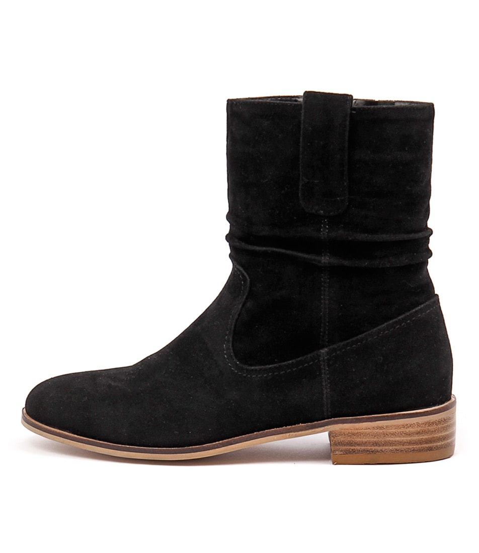 Buy Ko Fashion Paltrow Black Ankle Boots online with free shipping