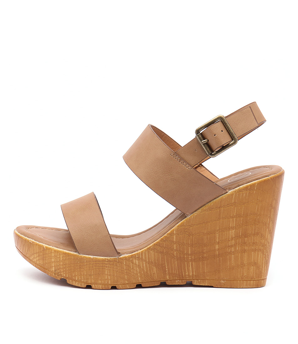 Ko Fashion Sachi Kf Camel Tan Sandals