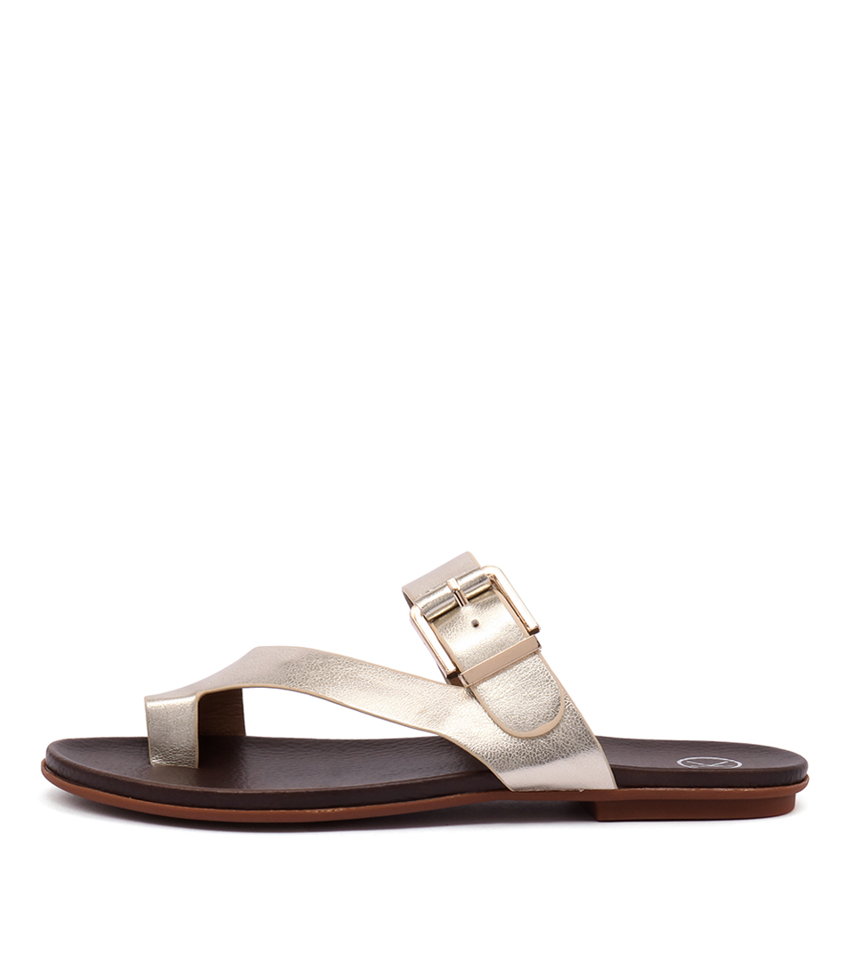 Ko Fashion Corfu Soft Gold Sandals