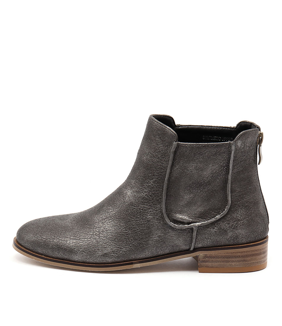 Ko Fashion Beduf Spray Paint Casual Ankle Boots