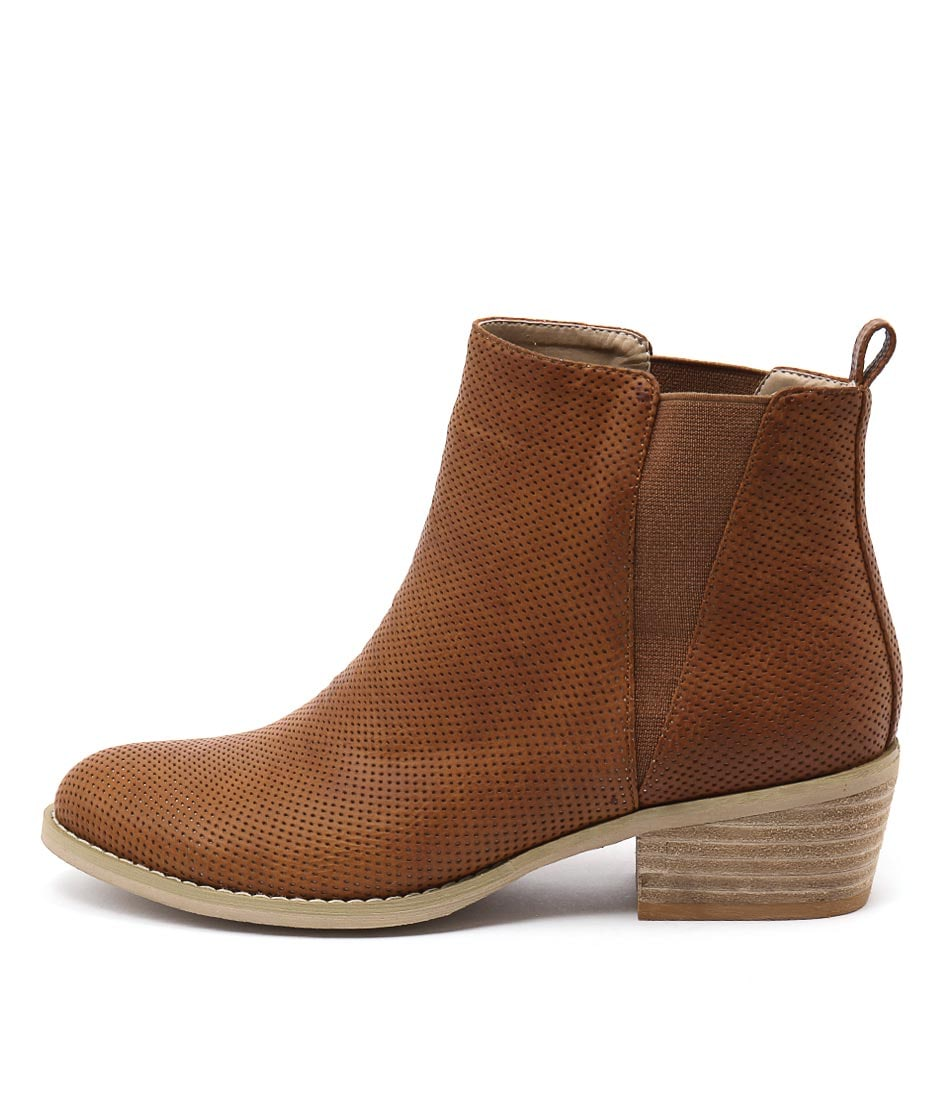 Ko Fashion Ellery W Brandy Casual Ankle Boots