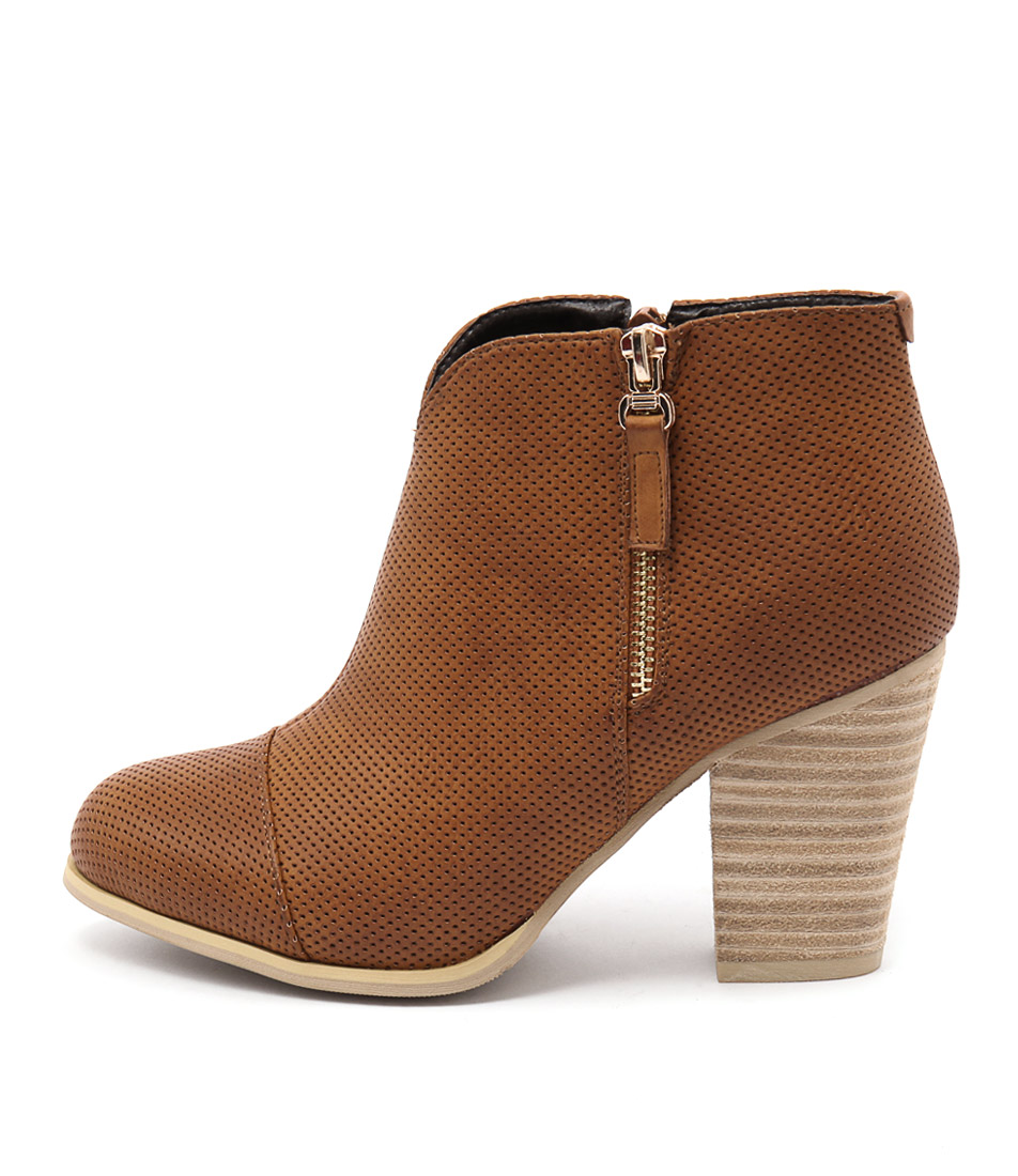 Ko Fashion Tabithy Brandy Ankle Boots