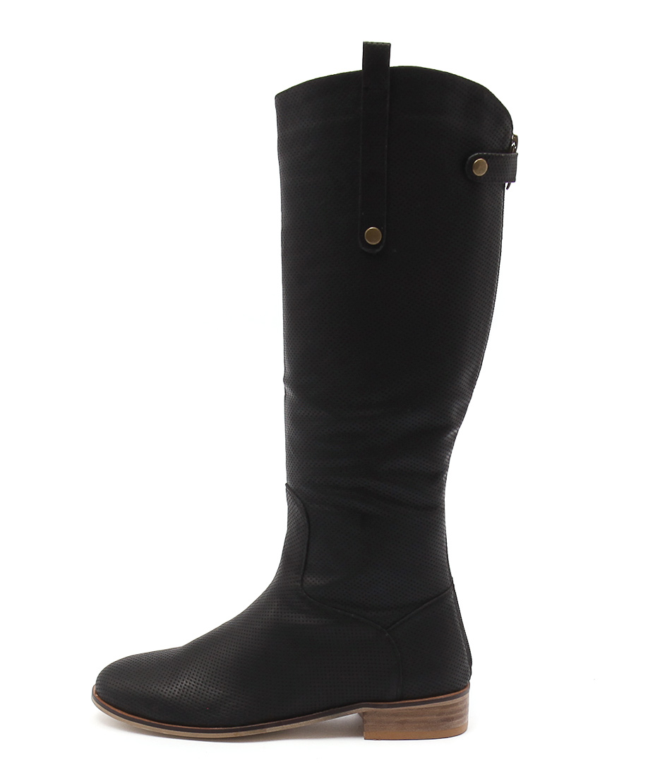Buy Ko Fashion Benjamin Black Long Boots online with free shipping