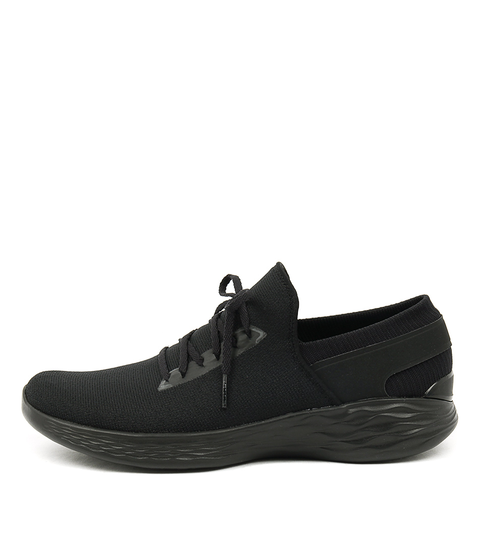 Photo of You By Skechers You Inspire Black Sneakers womens shoes