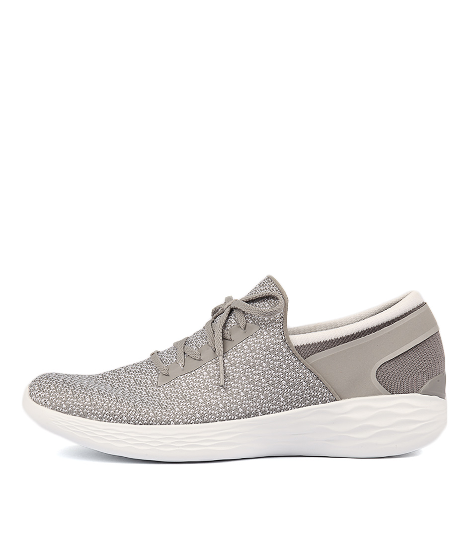 You By Skechers You Inspire Grey Sneakers