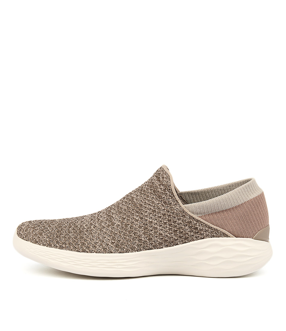 You By Skechers You Taupe Sneakers