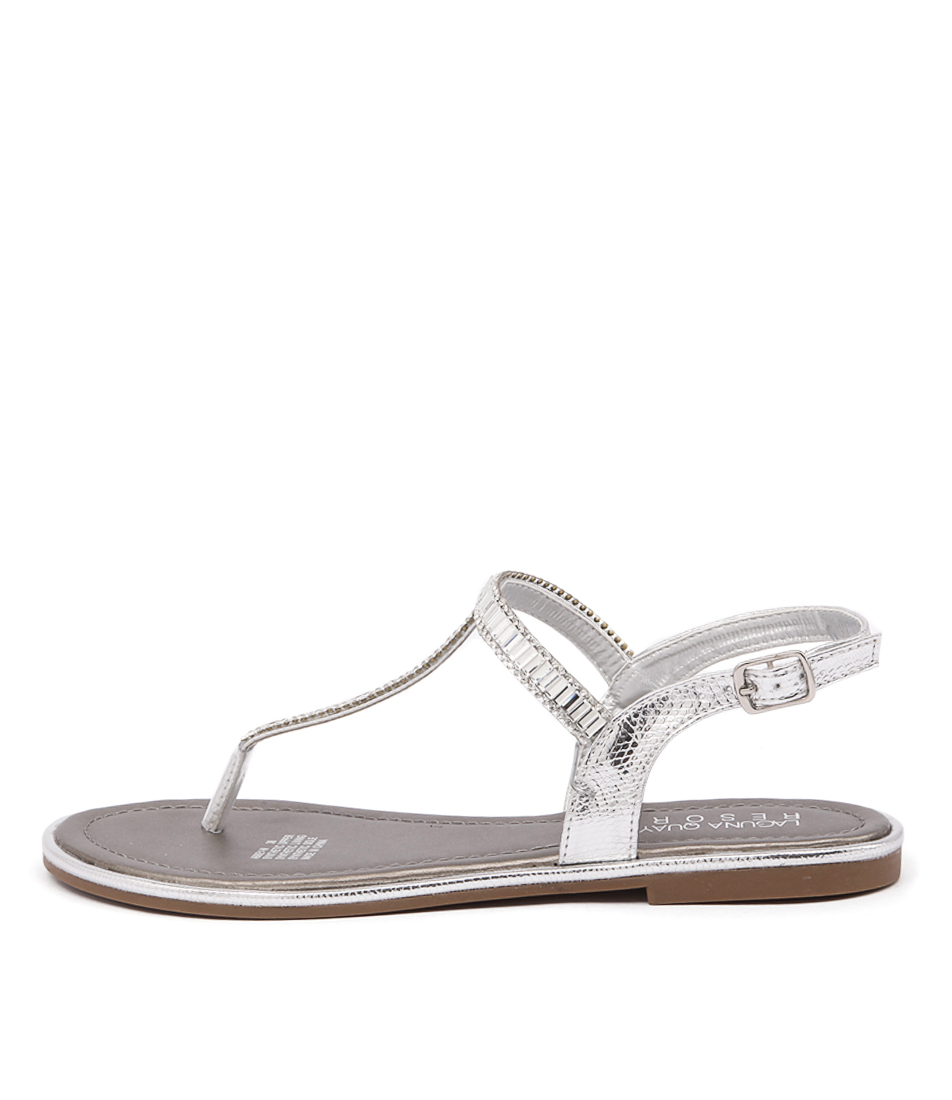 Laguna Quays Abbey Lq Silver Casual Flat Sandals