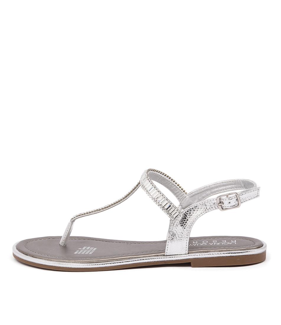 Laguna Quays Abbey Lq Silver Casual Flat Sandals