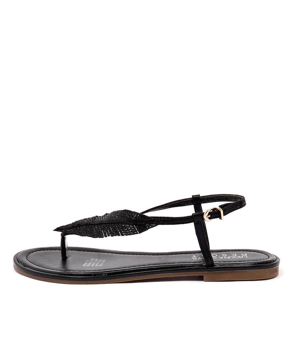 Laguna Quays Katya W Black Sandals