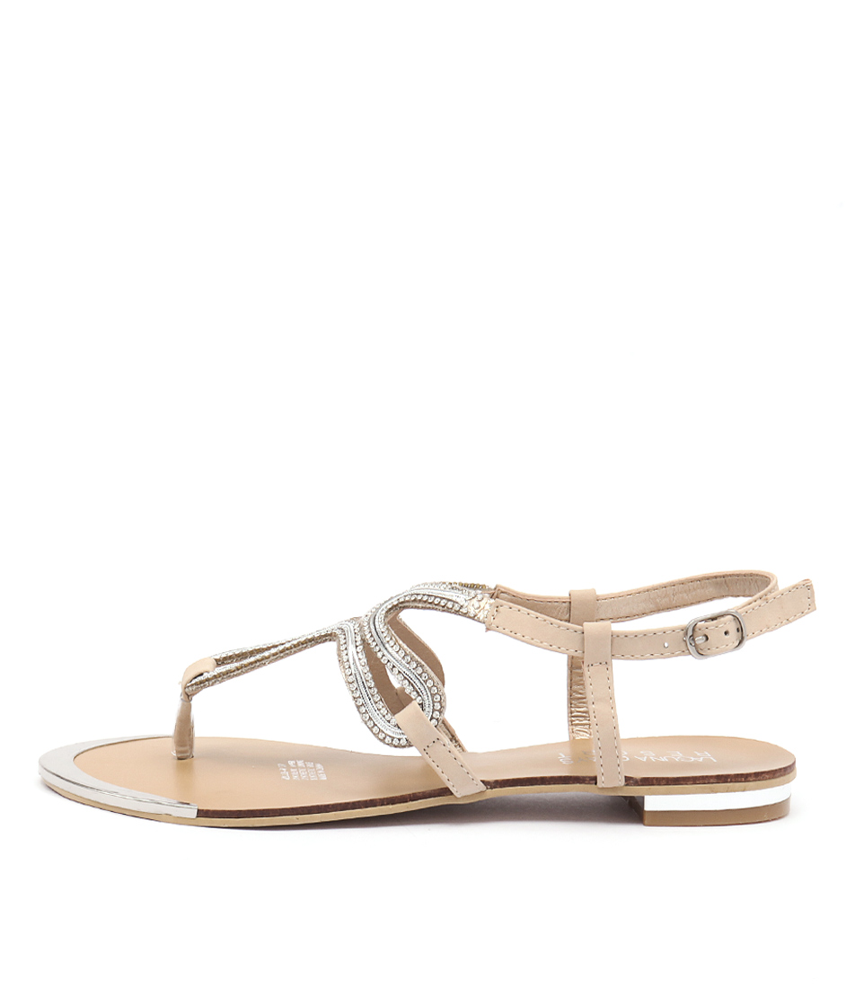 Laguna Quays Millie W Beige Casual Flat Sandals