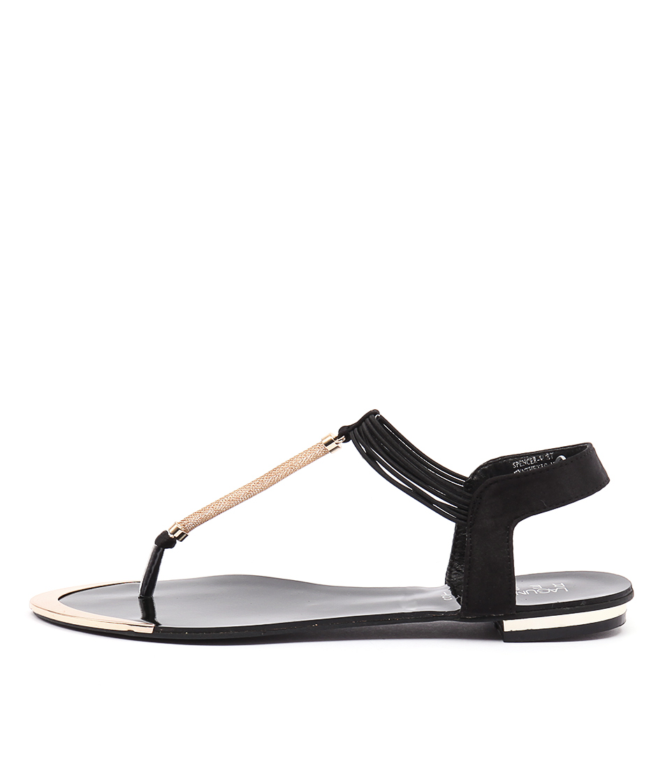 Laguna Quays Spencer Lq Black Sandals Flat Sandals