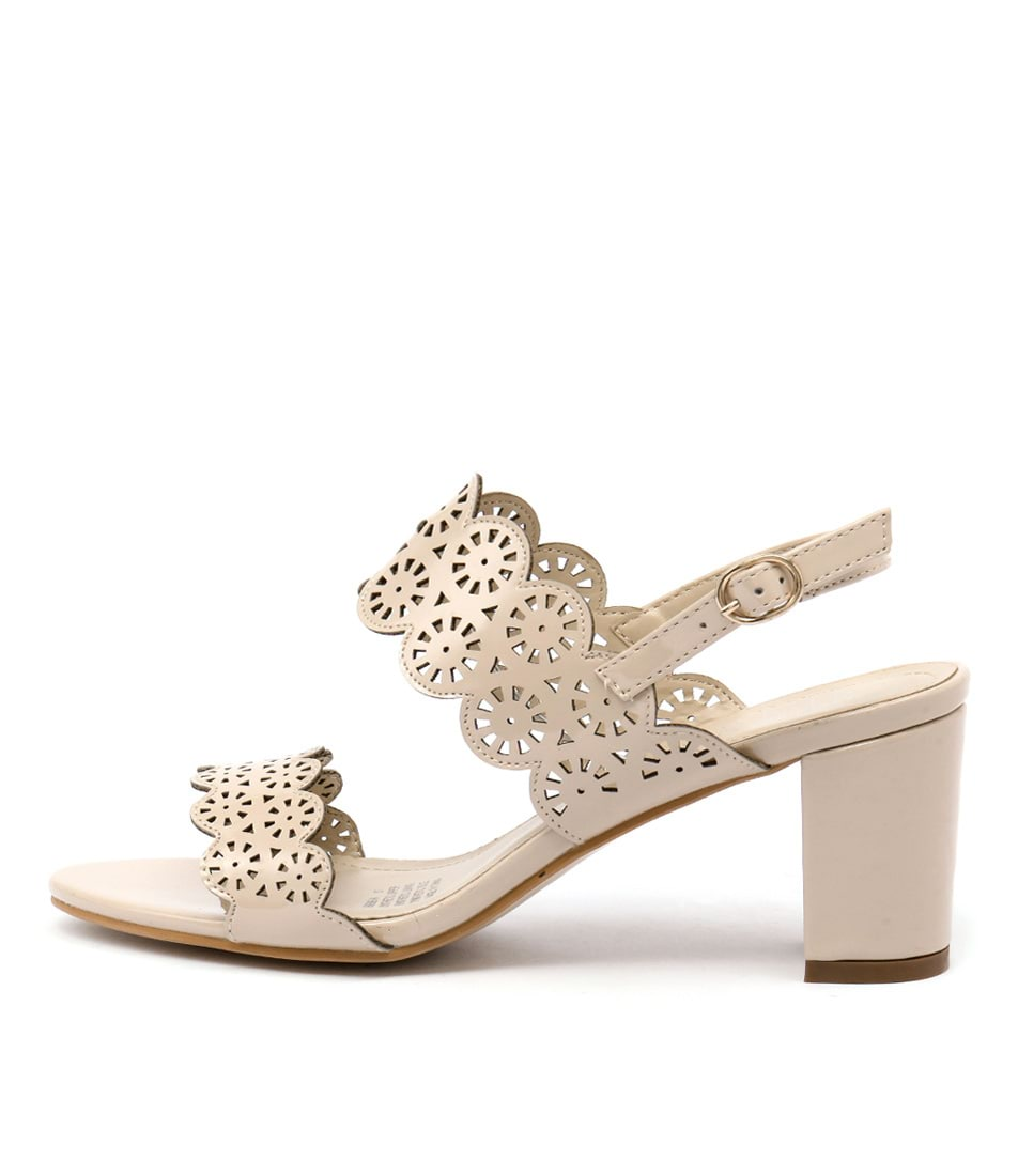 Laguna Quays Serene Latte Casual Heeled Sandals