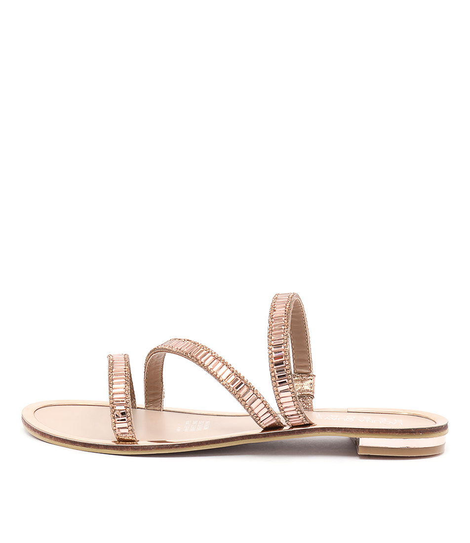 Laguna Quays Jamey Rose Gold Casual Flat Sandals
