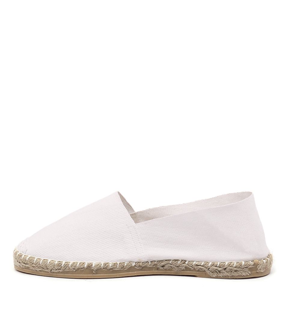 La Maison De L'espadrille 410 White Casual Flat Shoes