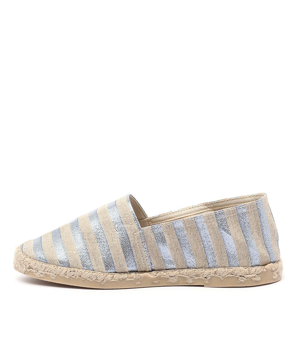 La Maison De L'espadrille 324 Acier Casual Flat Shoes