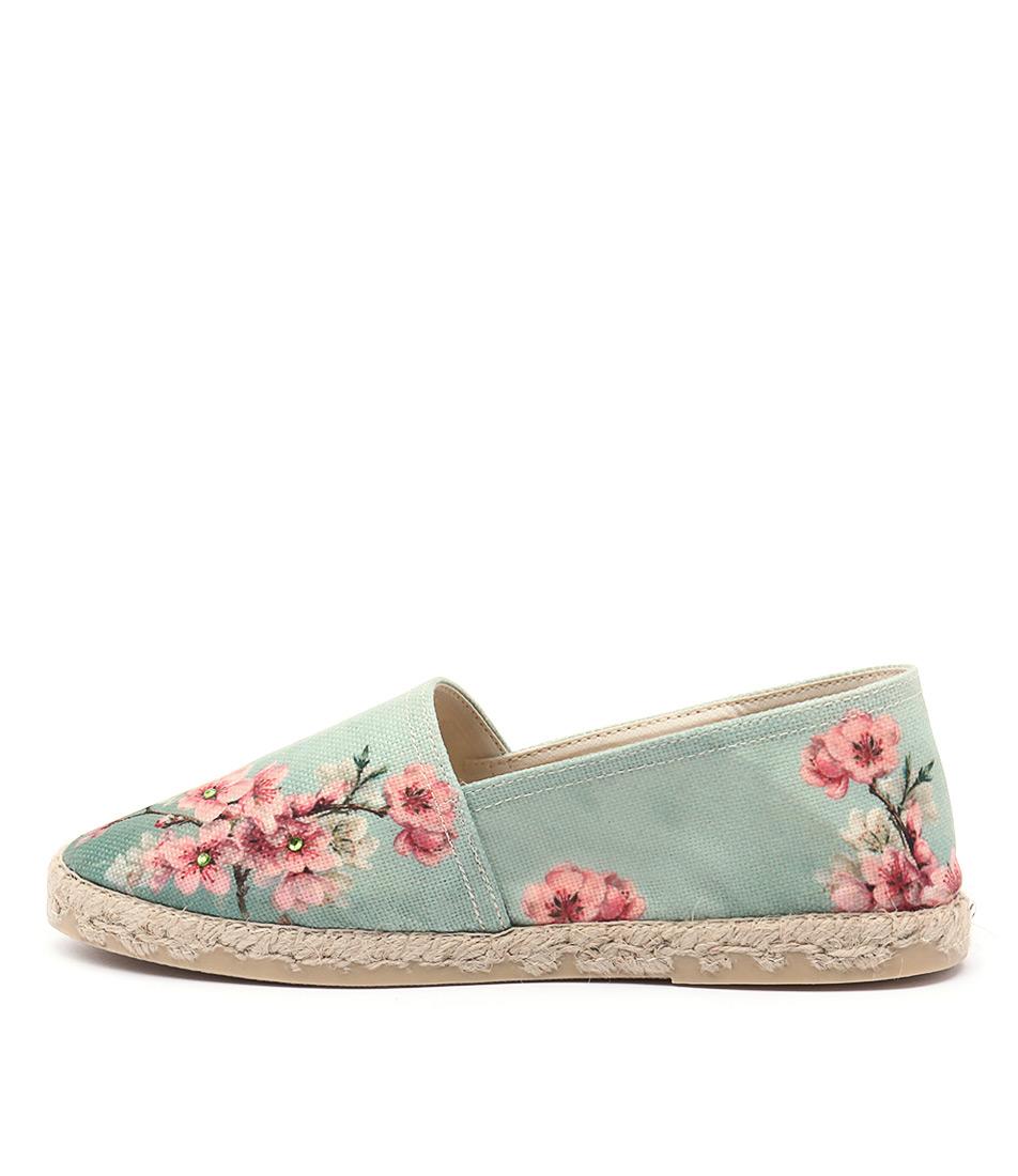 La Maison De L'espadrille 329 Floral Casual Flat Shoes