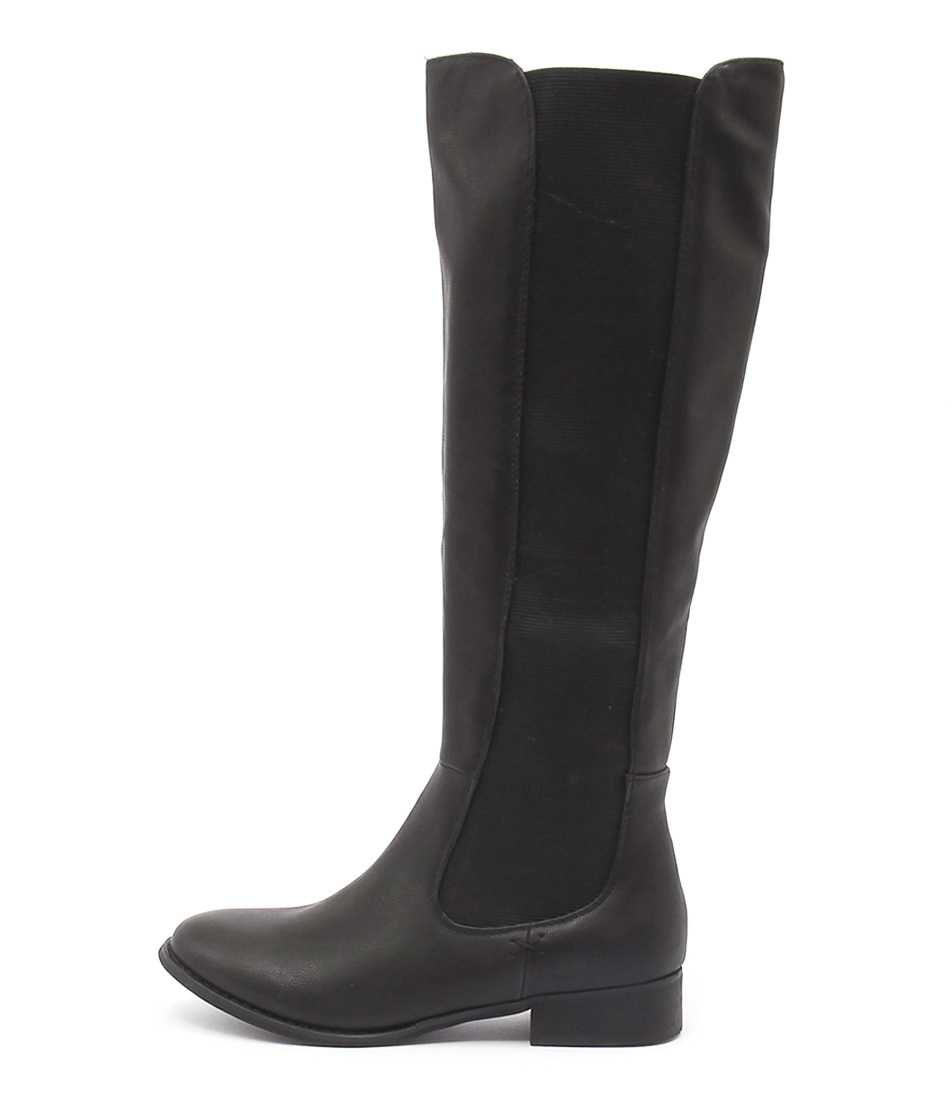 Lavish Treasure Lv Black Casual Long Boots