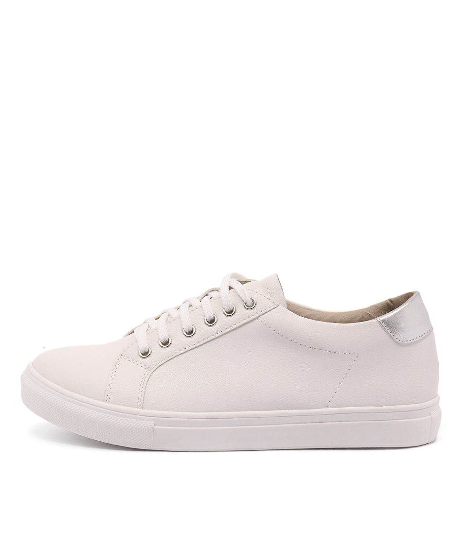 Lavish Rhonda White Sneakers