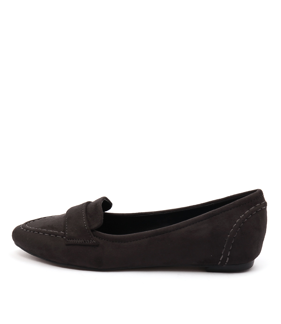 Lavish Cheri Charcoal Shoes