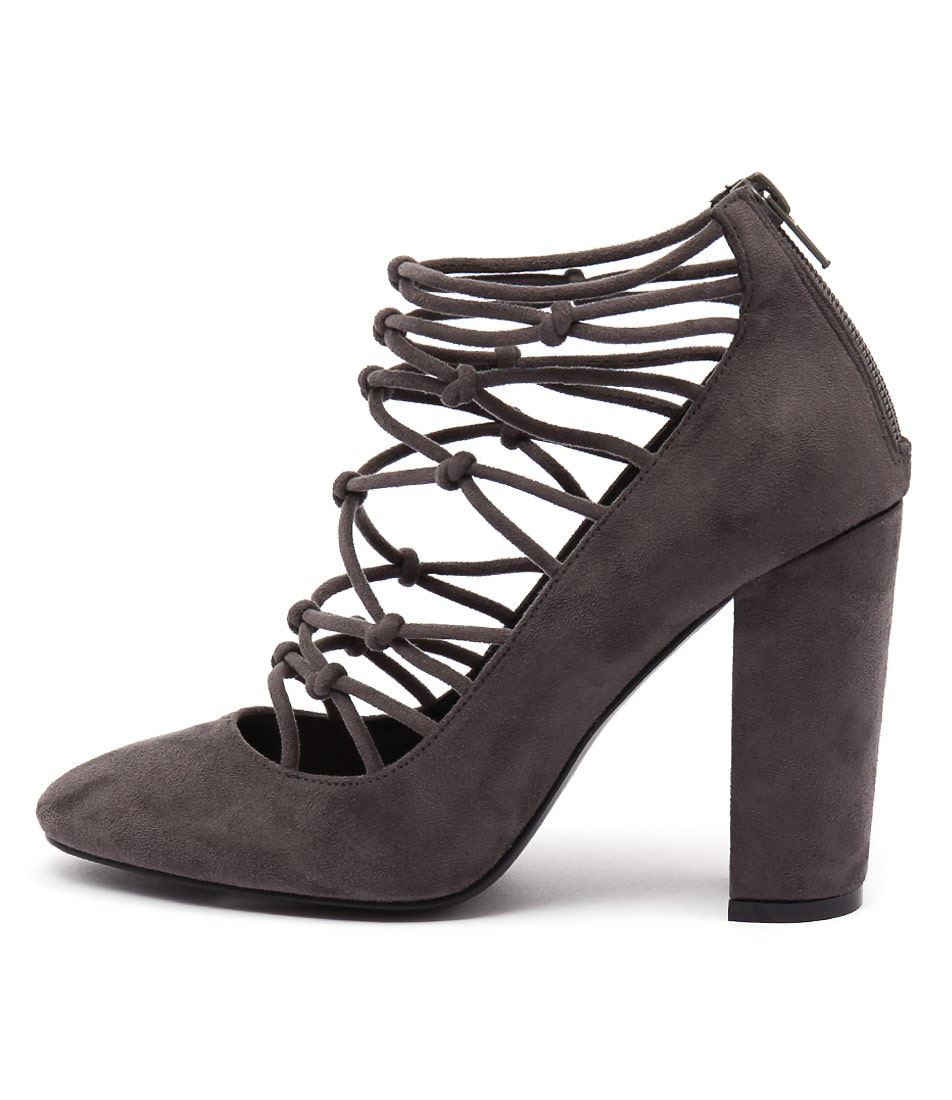 Lavish Worship Grey Heels