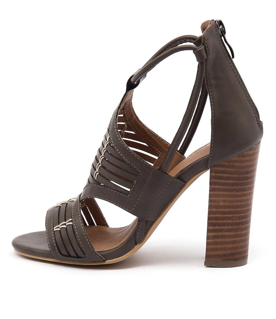 Lavish Bolt Lv Grey  Heels