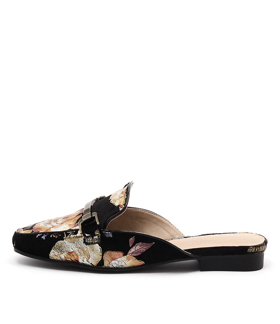 Lavish Dixon Lv Floral Casual Flat Shoes