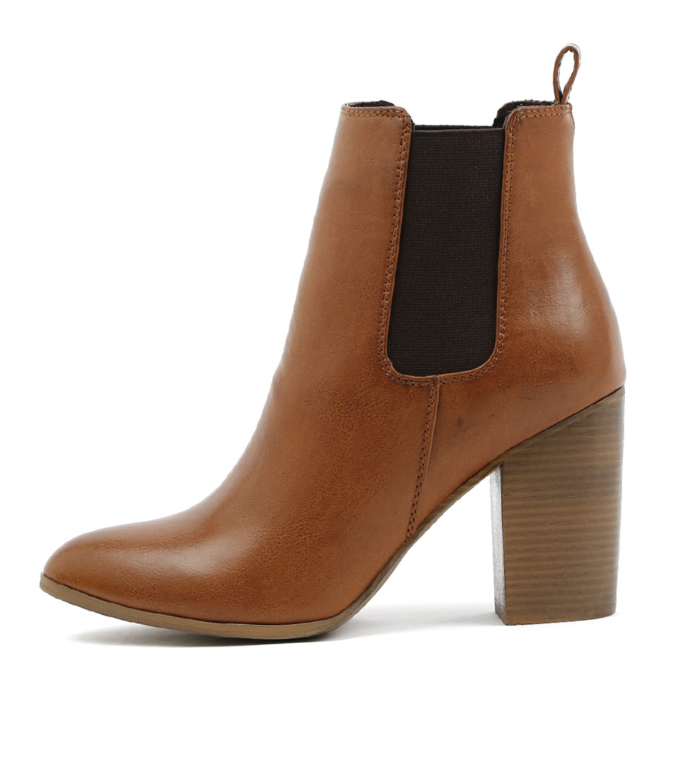 Los Cabos Swank W Brandy Ankle Boots