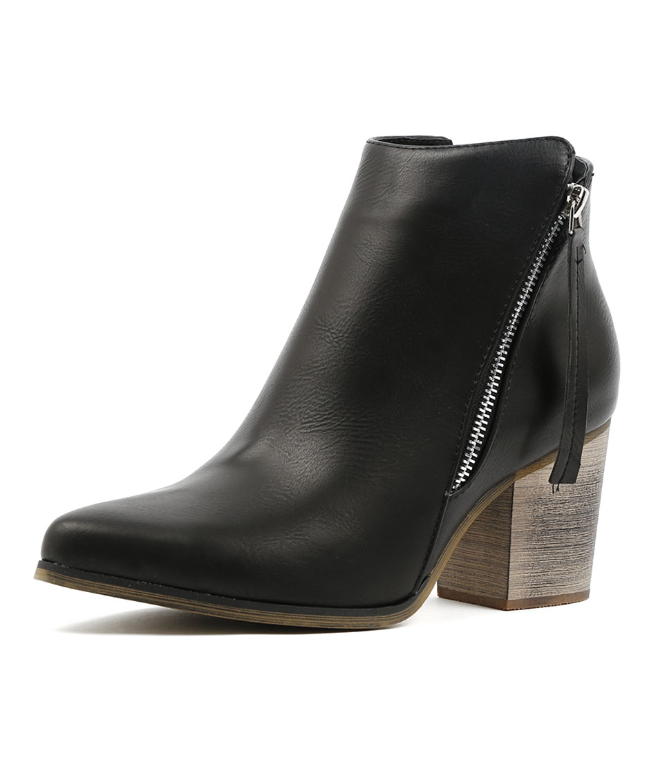 Los Cabos Vitali W Black Ankle Boots