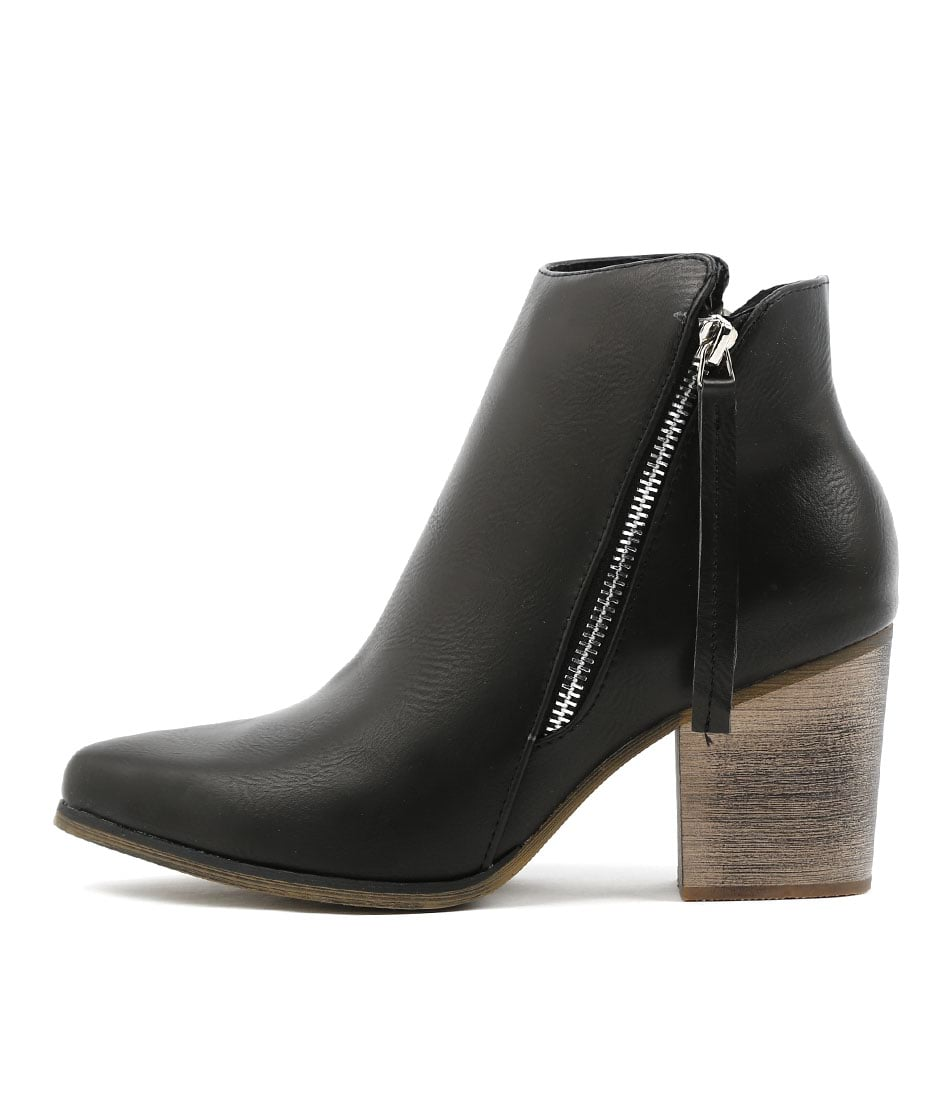 Los Cabos Vitali W Black Dress Ankle Boots