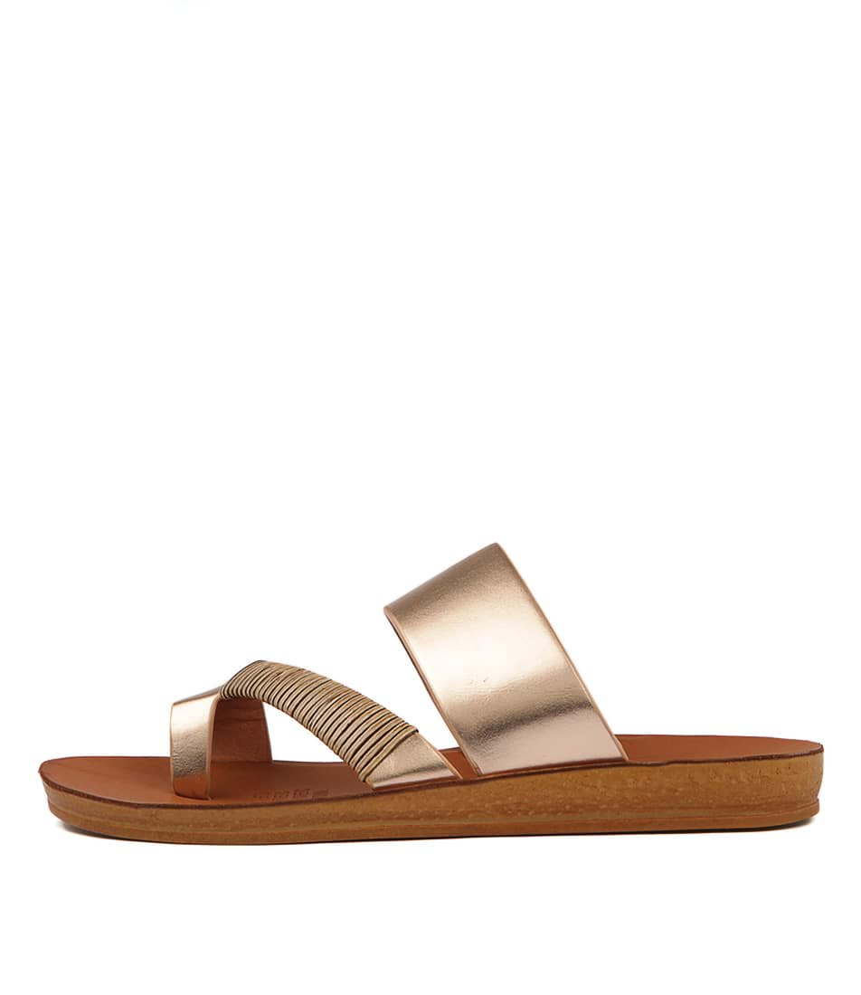Los Cabos Bri W Rose Gold Sandals