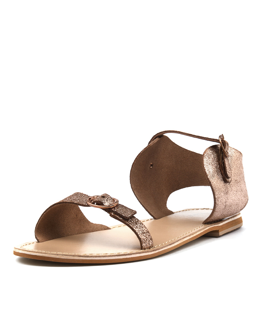 Los Cabos Tipsy W Rose Gold Sandals