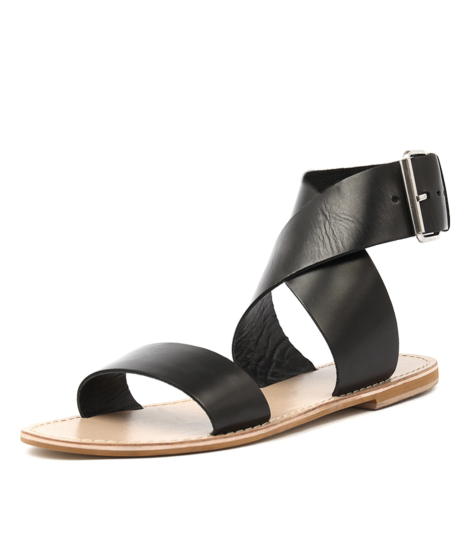 Los Cabos Triumph W Black Sandals