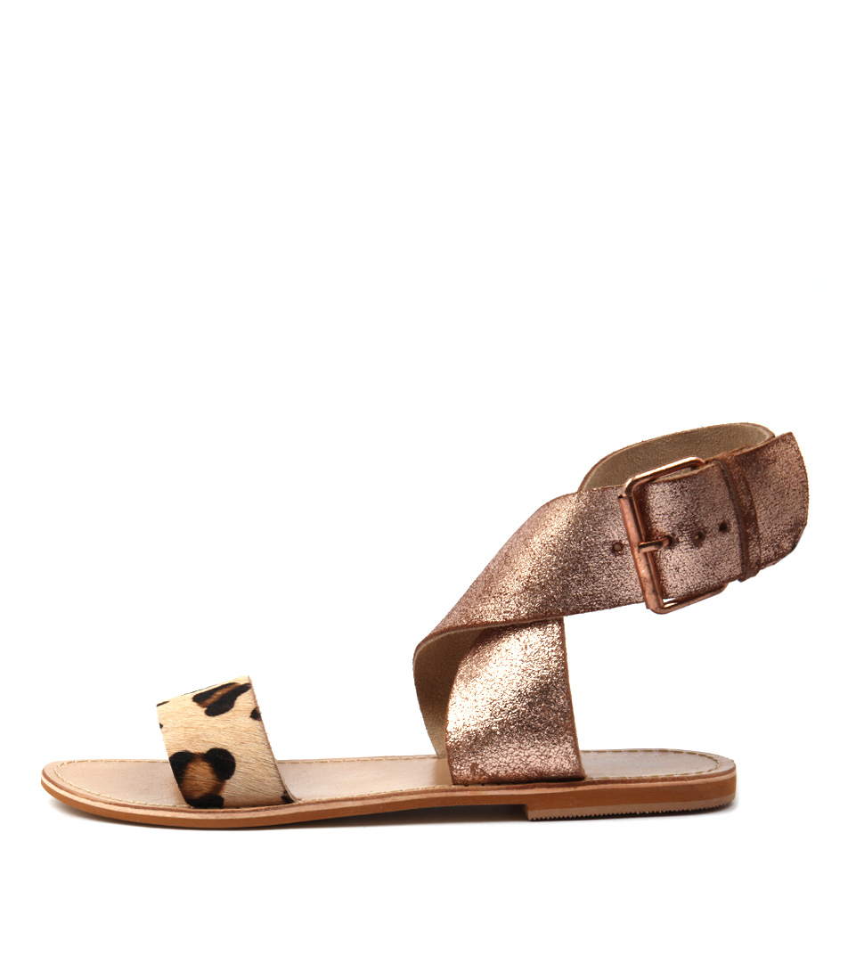 Los Cabos Triumph W Rose Gold Sandals