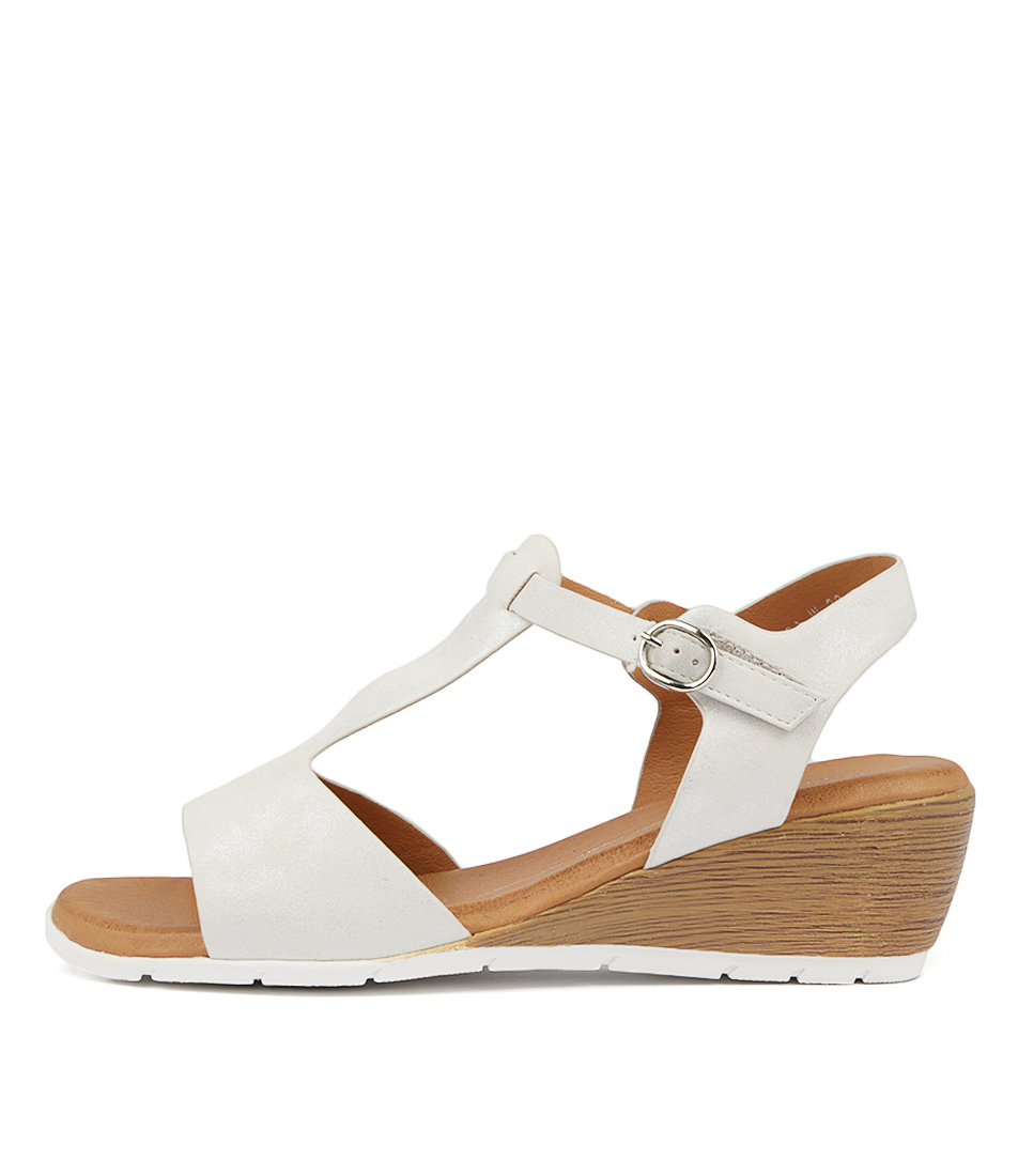 Buy Los Cabos Marissa W Silver Heeled Sandals online with free shipping