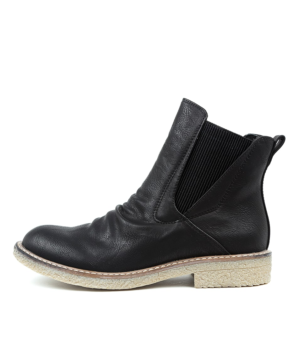 Buy Los Cabos Bona W Black Ankle Boots online with free shipping