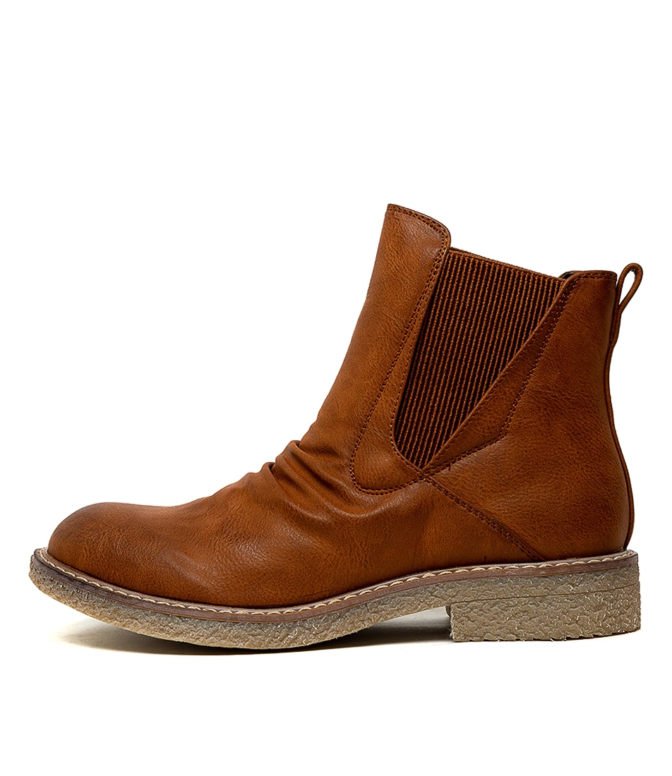 Buy Los Cabos Bona W Brandy Ankle Boots online with free shipping
