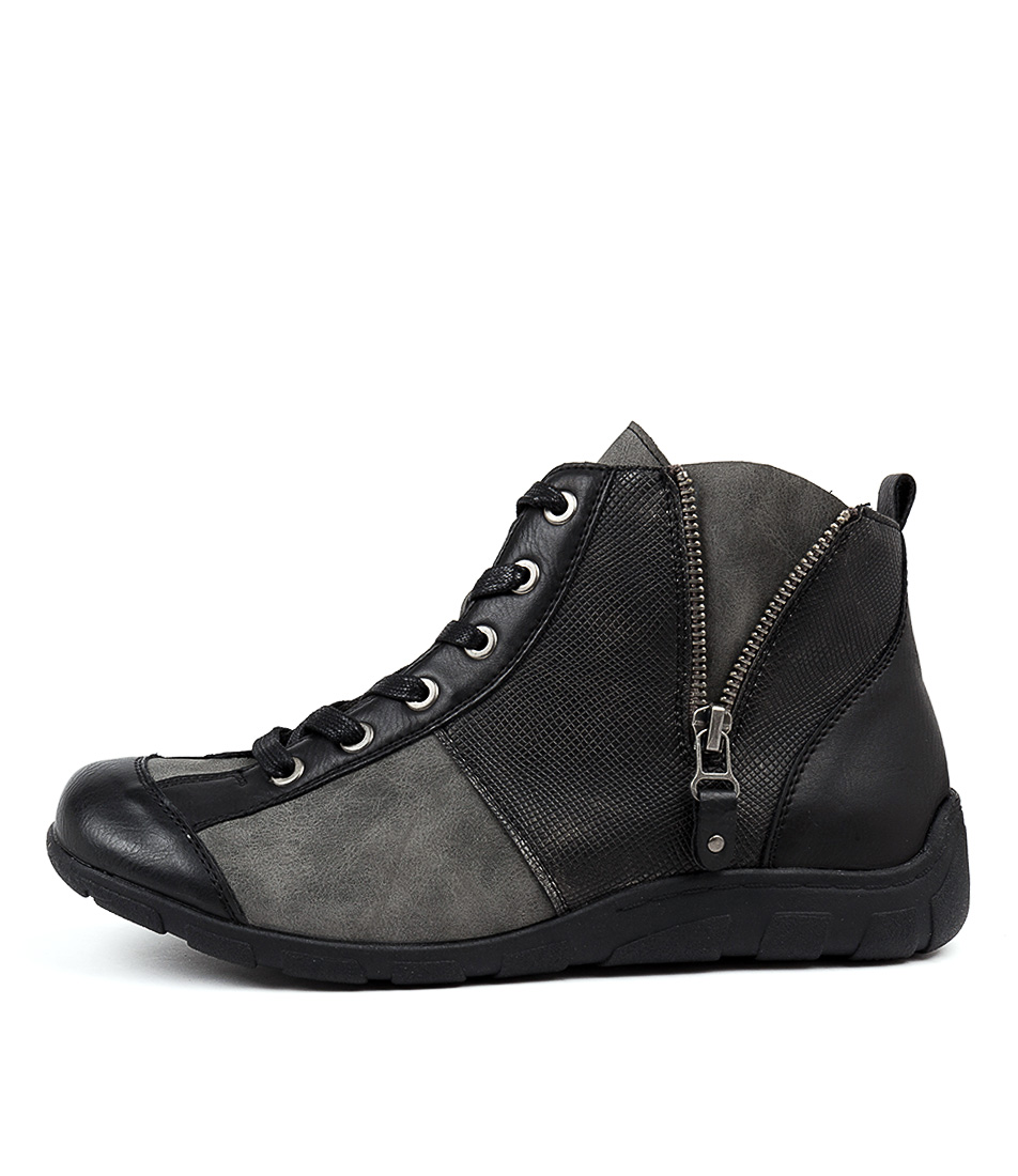 Buy Los Cabos Sierra W Black Ankle Boots online with free shipping