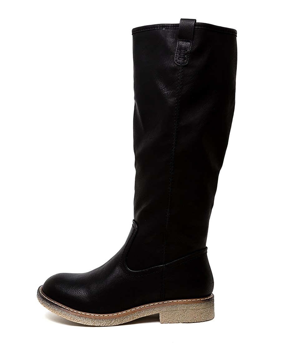 Buy Los Cabos Bonnie W Black Long Boots online with free shipping
