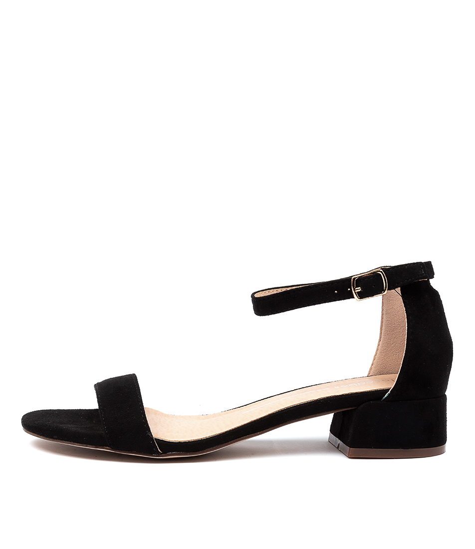 Buy Los Cabos Zaybe W Lc Black Heeled Sandals online with free shipping