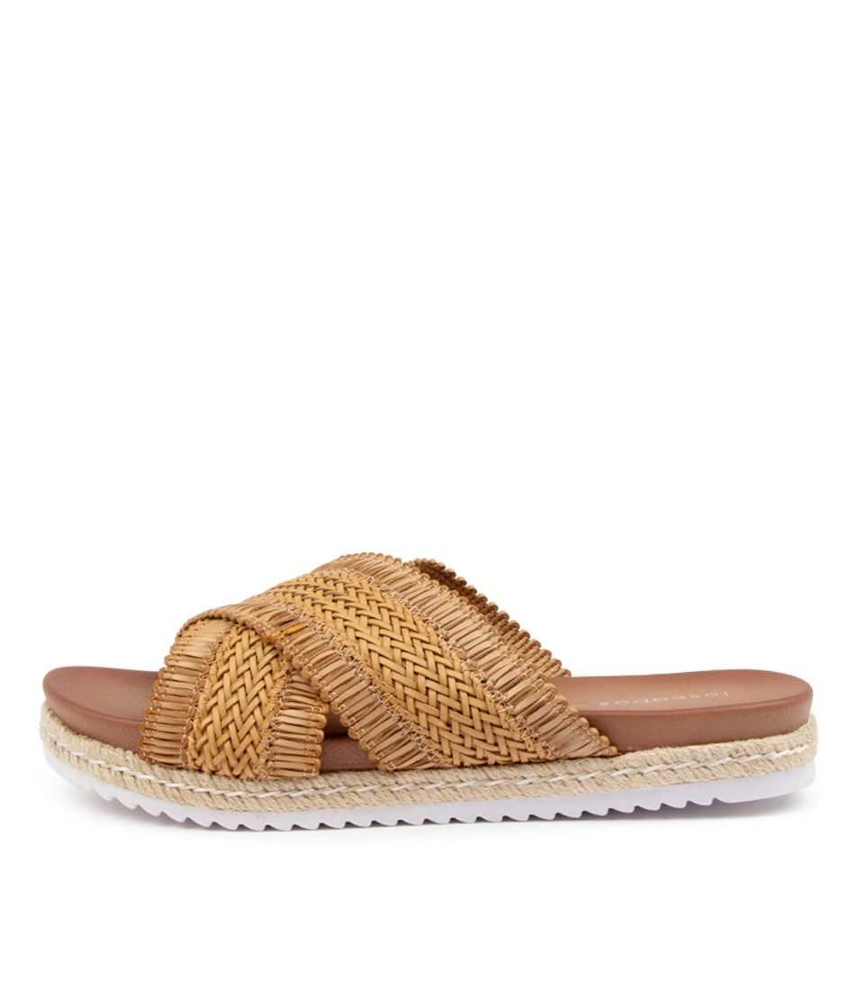 Buy Los Cabos Tinny W Lc Tan Flat Sandals online with free shipping