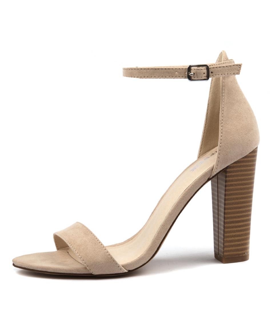 Lipstik Geisha Cashew Heeled Sandals